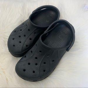 Crocs black classic clog size 10